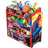 Marvel the Amazing Spider-man Multi-bin Toy Organizer