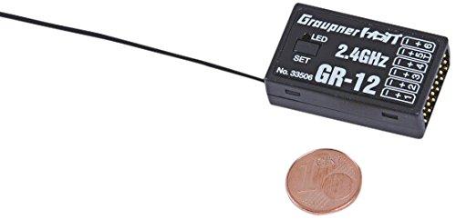 Graupner 33506.LOSE Empfänger GR-12 HoTT 2.4 GHz lose 6 K.