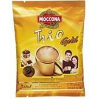 MOCCONA TRIO INSTANT COFFEE MIXED GOLD 20G. PACK 8SACHETS (Gloria Jeans Whole Bean Coffee compare prices)
