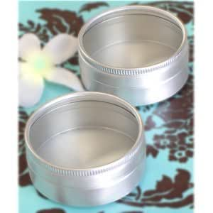 Clear Top Round Tin (2in. in diameter x 7/8in. tall) - pack of 12