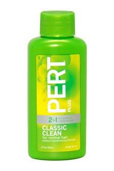 Medium Conditioning Formula 2 In 1 Shampoo & Condi Pert 1.7 Oz Shampoo & Conditioner For Unisex front-486714