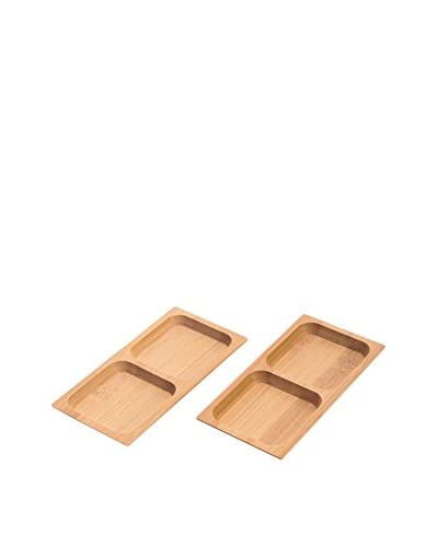 Bambum Set Kit Para Aperitivo 2 Uds. Almeria  B2510  Beige