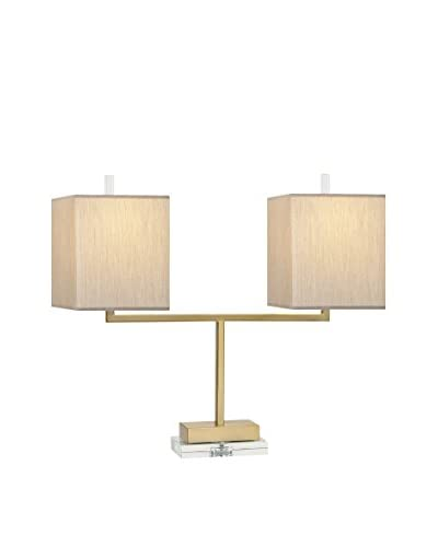Beth Kushnick Lincoln Double Lamp