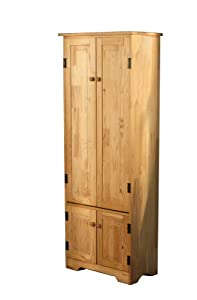 Tms Extra Tall Pine Cabinet Honey Kitchen
