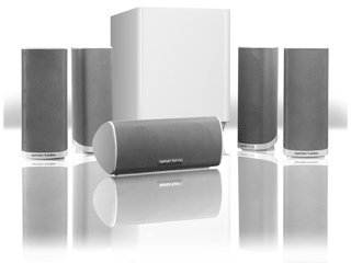 Harman Kardon HKTS16WQ - 5.1 Speaker System in WHITE
