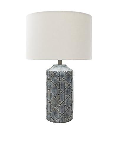 Surya Brenda Table Lamp, Antique Black