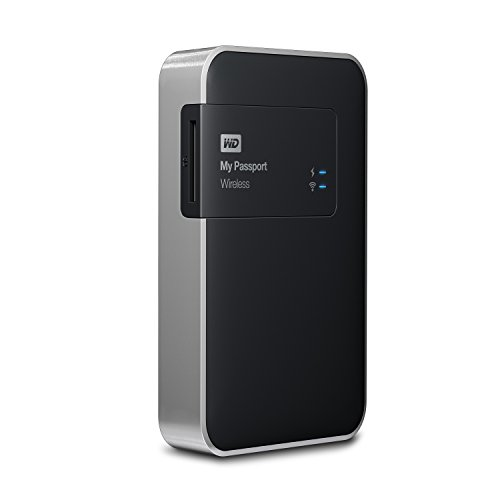 WD 1TB  My Passport Wireless Portable  External Hard Drive  - WIFI USB 3.0  - WDBK8Z0010BBK-NESN (Western Digital Wireless Drive compare prices)