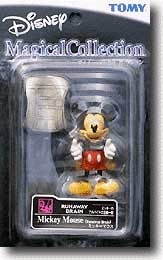 Disney Magical Collection #033 Run Away Brain Mickey Mouse Figure - 1