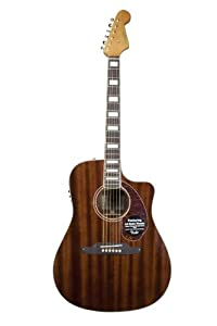 Fender Limited Edition Kingman SCE Dreadnought Acoustic-Electric Guitar - All Solid Mahogany