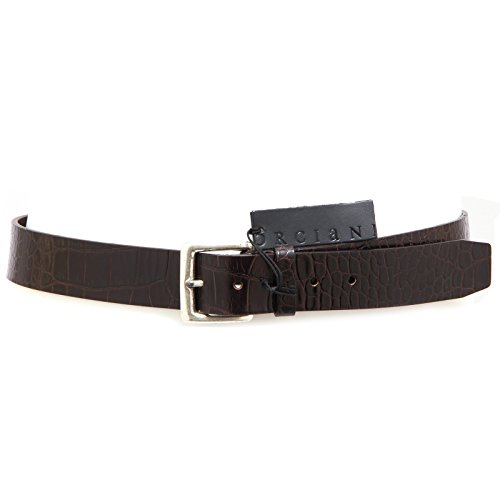 3477Q cintura uomo ORCIANI marrone hand made belt men [100 CM]