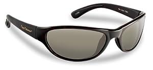 Flying Fisherman Key Largo Polarized Sunglasses (Matte Black Frame, Smoke Lens)