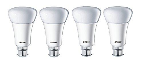 12W LED Bulb (White, Set Of 4)