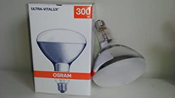 300r e27 ultra vitalux osram sun lamp medical tanning bulb 300 watts. Black Bedroom Furniture Sets. Home Design Ideas