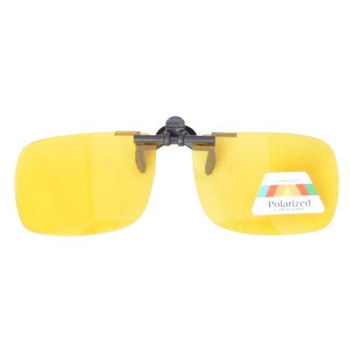 Eyekepper Sonnenbrillen-Clip für Brillenträger Gelb
