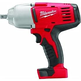 Bare-Tool Milwaukee 2662-20 18-Volt M18 1/2-Inch High Torque Impact Wrench with Pin Detent (Tool Only, No Battery)
