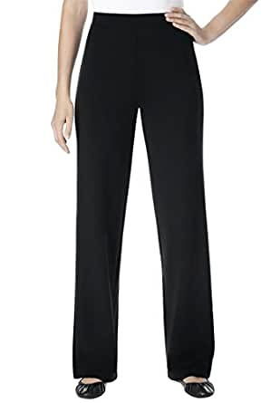 Pants In Stretchy Ponte Knit at Amazon Women's Clothing store