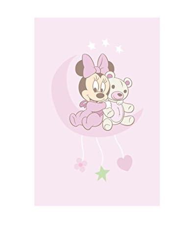 ABC Alfombra Disney Comfort Line Minnie Baby Rosa Claro 100 x 150 Cm