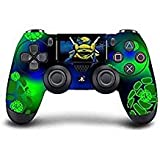 PS4 DualShock wireless Controller Pro console - Newest PlayStation4 Controller with Soft Grip & Exclusive Customized Version Skin (PS4-TMNT) (Color: TMNT)