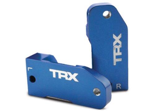 Traxxas 3632A Blue-Anodized 6061-T6 Aluminum Caster Blocks (pair) (Traxxas Slash 2wd Parts compare prices)