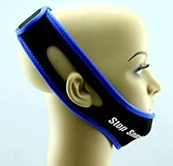 Anti Snoring Chin Strap Blue (XXL)