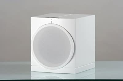 Waterfall Audio Highforce 1 EVO 8-Inch 150-Watt Sealed Ultra Compact Subwoofer (White) by Waterfall