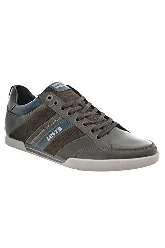 Levi' s Turlock Refresh, Sneakers Basse Uomo, grigio (grigio), 46