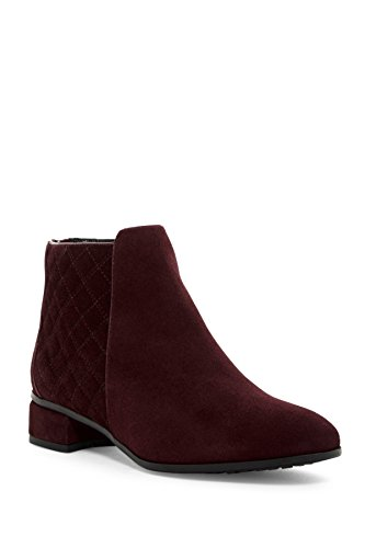 Aquatalia by Marvin K Laurel Weatherproof Suede Boot Wine Size 8 (Weatherproof Quilted Boots compare prices)