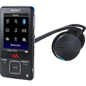 Sony 8 GB Walkman Video MP3 Player with Built-in Bluetooth (Black)