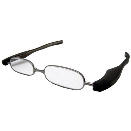 ジェーシー 折りたたみ老眼鏡 快読メガネSMART +1.0度 ブラック KI-01-10