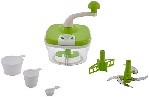 Jony 10_in_1_Green Manual Food Processor (Green) by A TO Z Sales-AZ5021