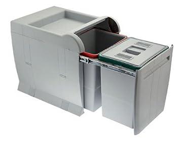1 g n rique poubelle coulissante tri tri selectif city pour meuble de 450 450 mm. Black Bedroom Furniture Sets. Home Design Ideas
