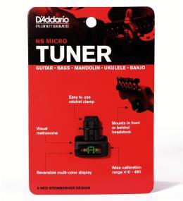 D'Addario NS Micro Clip-On Tuner 1