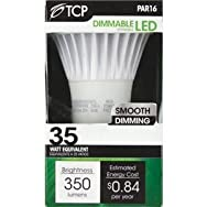 TCP PAR16 Dimmable LED Floodlight Light Bulb-7W PAR16 LED 30K BULB