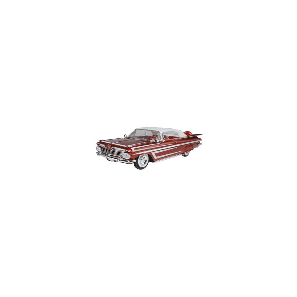 25 1959 Chevy Impala Convertible 2n1 Car Model Kit Toys & Games