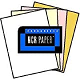 125 Sets of 4 Part Letter Size Straight Collated NCR Paper - 01924, Appleton