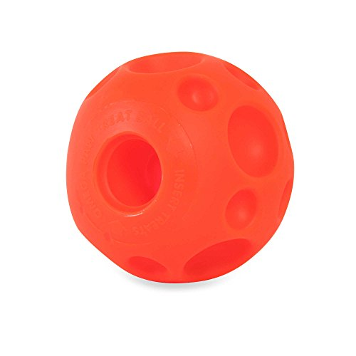 Omega Paw Tricky TreatTM Medium Ball for Dogs (Omega Ball compare prices)