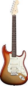 Fender American Deluxe Strat HSS, Rosewood Fretboard - Sunset Metallic