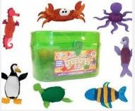 Dough Sea Creatures Tub - 1