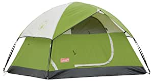 Coleman Outdoor Camping Hiking Sundome 2 Tent - 5' x 7'