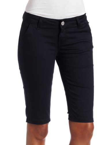 Southpole Juniors BASIC Uniform Flat Front Bermuda Short
