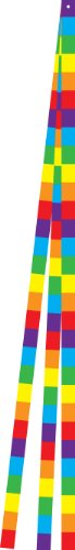 In the Breeze Rainbow Stripe Kite Tail Set, 15-Feet