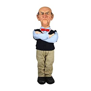 "Amazon.com: NECA Jeff Dunham ""Walter"" 18"" Talking Doll 1: Toys & Games"