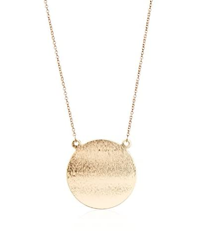 Jules Smith Long Flat Disc Necklace