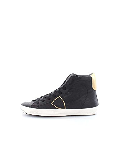 PHILIPPE MODEL PARIS CLHD MC21 CLASSIC HIGH NERO SNEAKERS Donna NERO 37