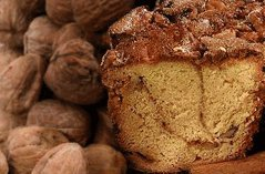 My Grandma's Lower Fat Cinnamon Walnut Coffee Cake