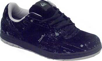 Quiksilver, Sneaker uomo nero nero EU43