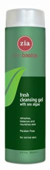Zia Fresh Cleansing Gel with Sea Algae 8.3 Ounce Bottle