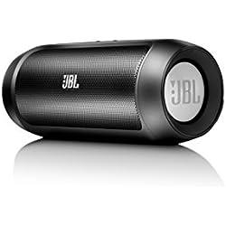 JBL Charge II - Altavoz portátil de 15W para dispositivos con Bluetooth, negro