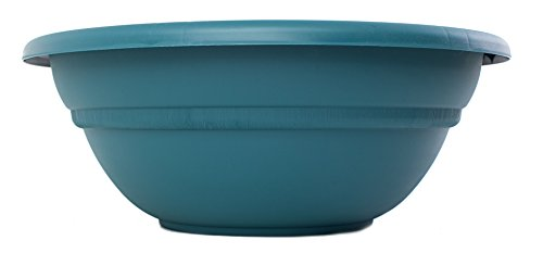Bloem MB2124-48 Milano Planter Bowl, 24-Inch, Turbulent (24 Urn Planter compare prices)