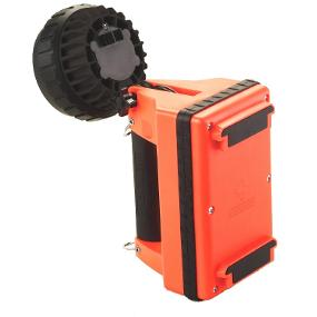 Streamlight E-Flood LiteBox lantern featuring swivel neck for full right-angle lighting
